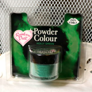 Edible Powder Holly Green